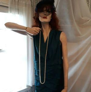 Flapper style layered dress, 20